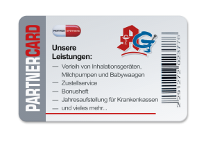 Unsere Kundenkarte: die Apotheke Gutersohn Partnercard
